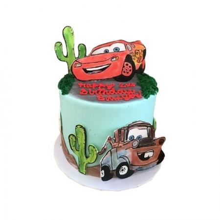 Disney Car Cake