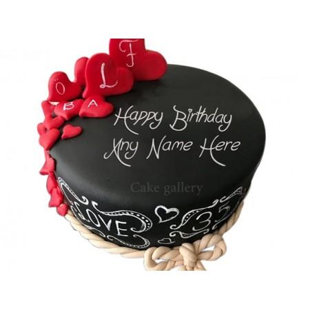 Special Romantic Cake