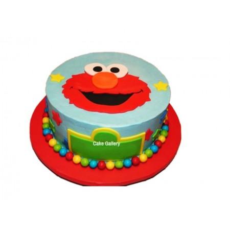 Elmo Cake 2