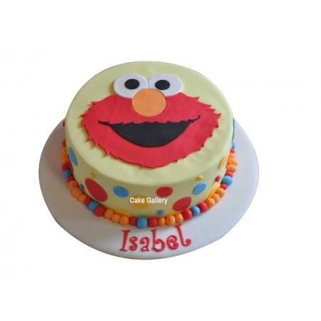 Elmo Cake 3