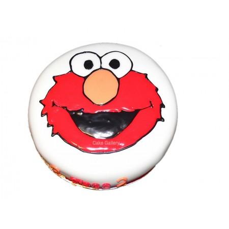 Elmo Cake 5