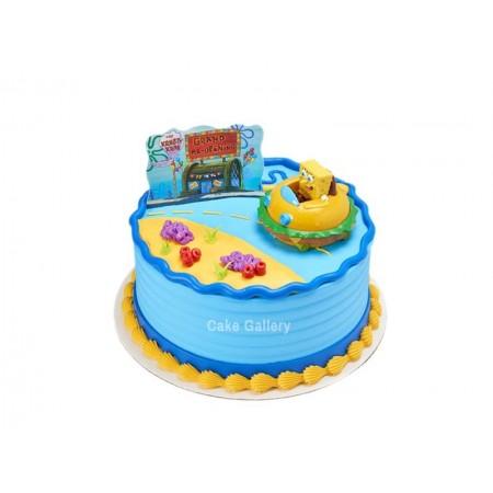 spongebob cake 4