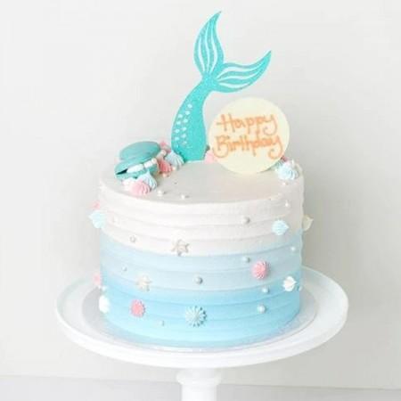 Mermaid Cake 04