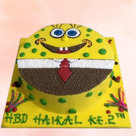 spongebob cake 8