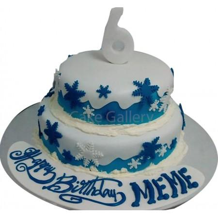 6 Mountain Cake