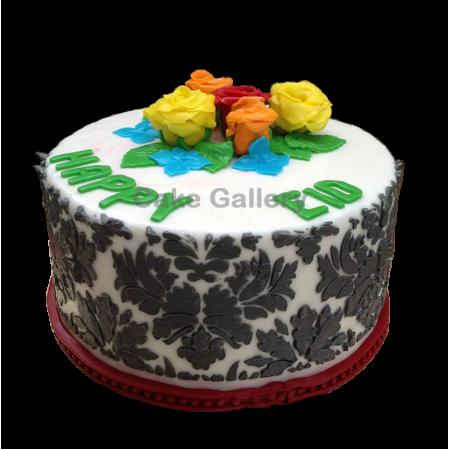 Eid Rose Cake