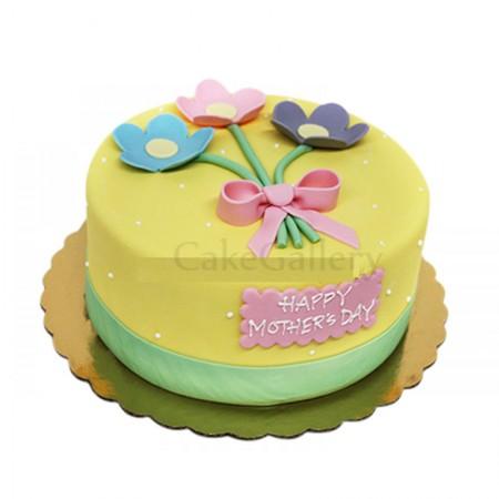 Kinder Flower Cake