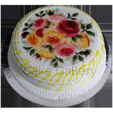 Awesome Rose Cake