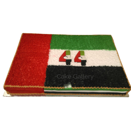 National Day square Cake
