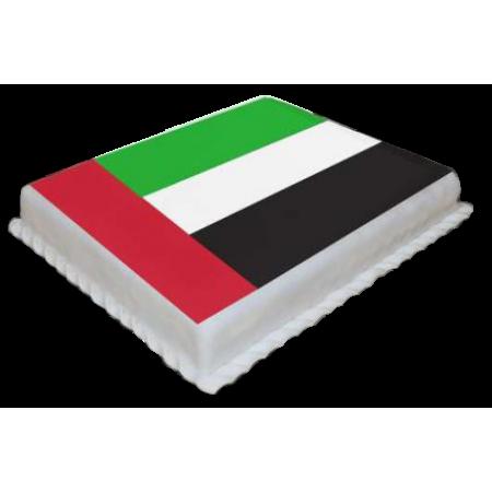 UAE Flag Design Cake