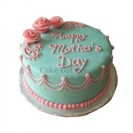 3 Rose Mother's Day Cake