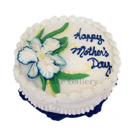 Flower Design Mothers Day Cake