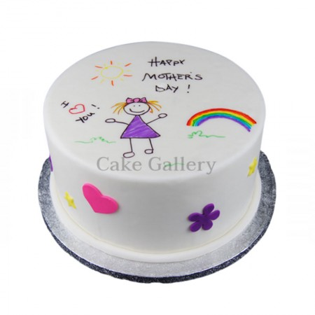 mothers day gift a cake