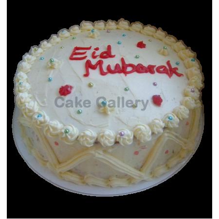 Eid Round Cake