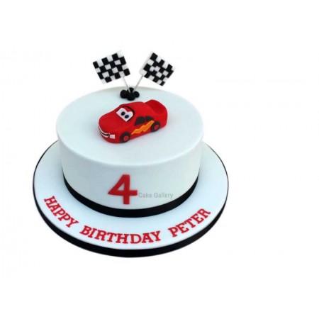 cars design cake 2