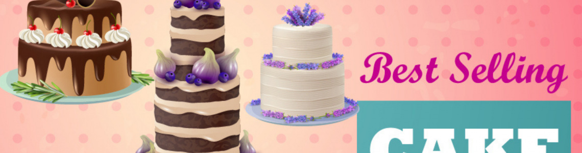 Cake gallery's top 3 pick of our best selling cakes and gifts online