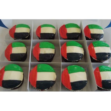 National Day Cup Cakes